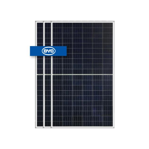 BYD 275 W Poly Half cell silver frame(BYD275PHK-30)