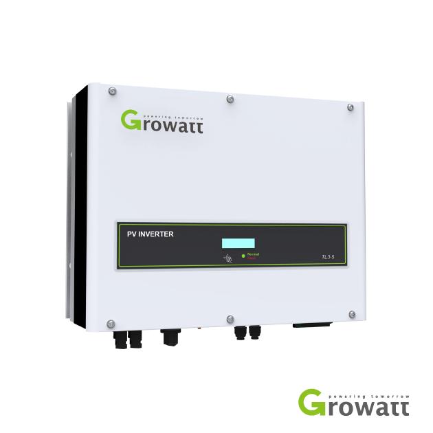 Growatt 5 kW 3 Phase 2 MPPT Grid Connect (5000TL3-S)