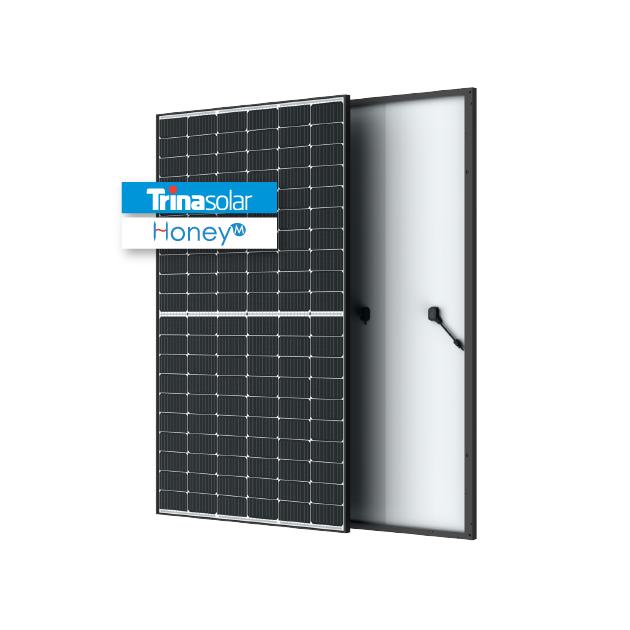 Trina 370 W PERC Mono MBB – 120 Half-Cut Cells – Black Frame- TS4 Connectors – (TSM-370DD08M.08(II))