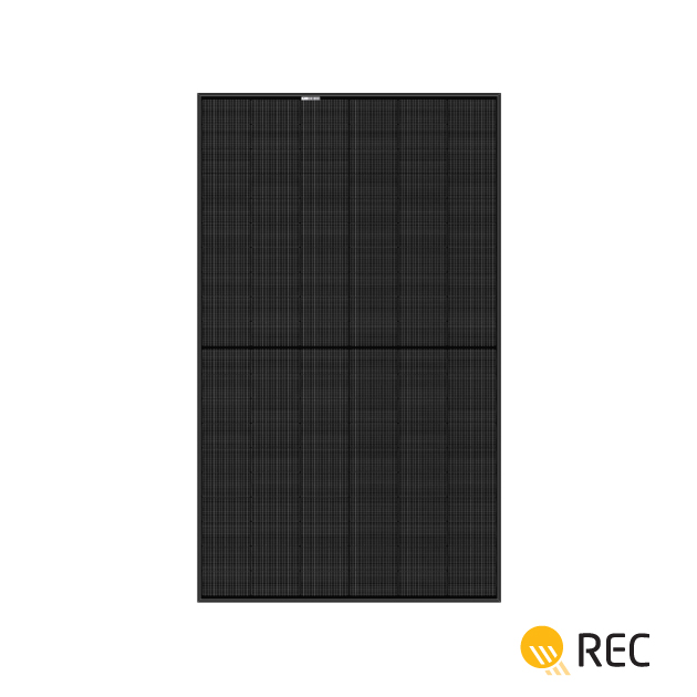 REC Alpha 370W Black Frame 120 Half-Cut Cells Mono