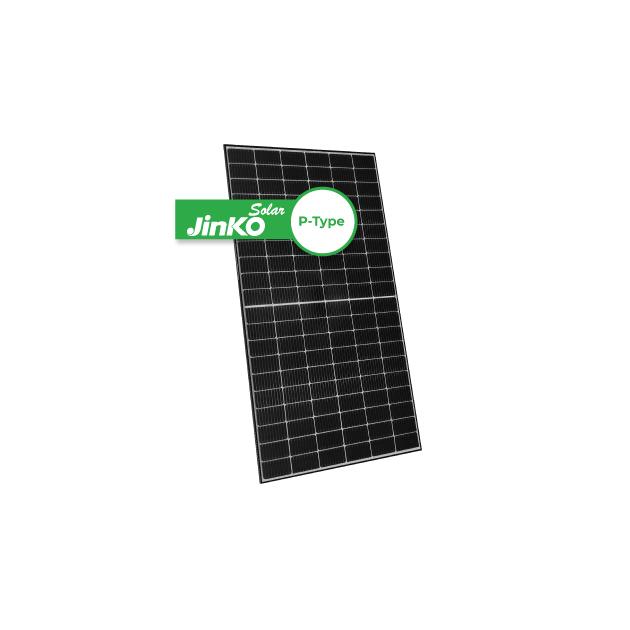 Jinko Solar Tiger P-Type 370W Black Frame 120 Half-Cut Cells Mono (JKM370M-60HLM)