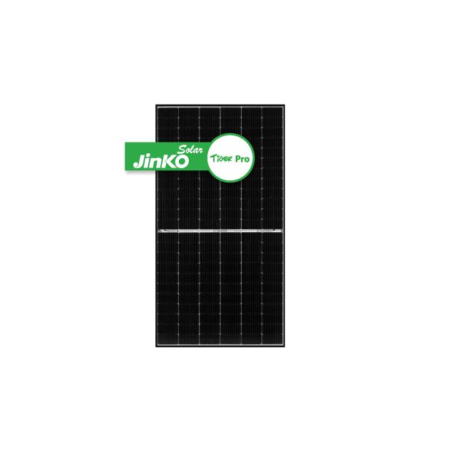 Jinko Solar Tiger Pro 440W Black Frame 120 Half-Cut Cells Mono